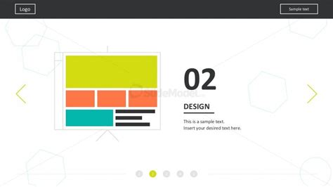 Flat Material Web Design Powerpoint Templates Slidemodel Website Design Presentation Template
