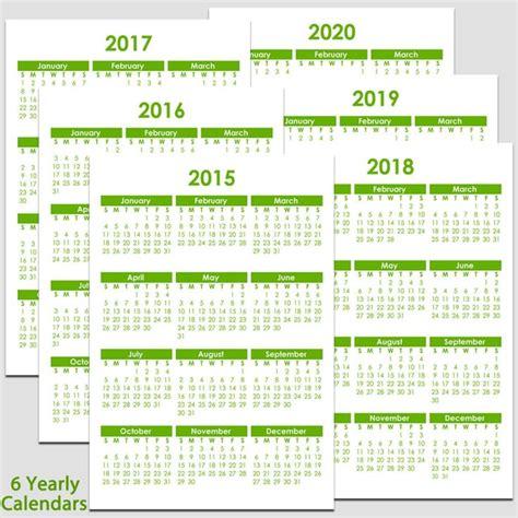 printable    yearly calendar      calendars     variety