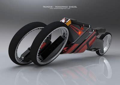 Tiga Roda 1 Pcs trimove sepeda motor roda tiga futuristik car wash