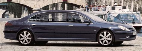 peugeot 607 limo limousines limo and peugeot