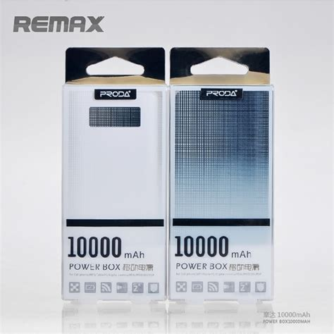 Remax Proda 6j Power Box Series Power Bank 20000mah Black 44dkmq remax proda 3j power box series power bank 10000mah black jakartanotebook