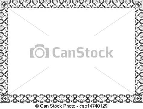 cornice gotica illustrazioni vettoriali di decorativo ornamentale