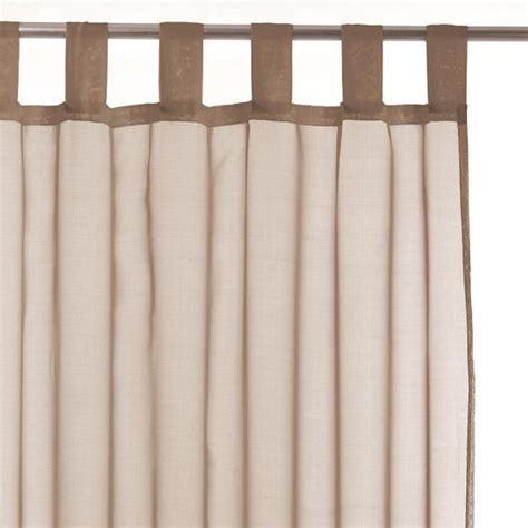 Rideau Voilage Taupe by Voilage Taupe Voilage Eminza