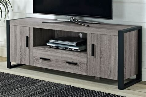 reclaimed wood tv stand gray woodworking projects plans