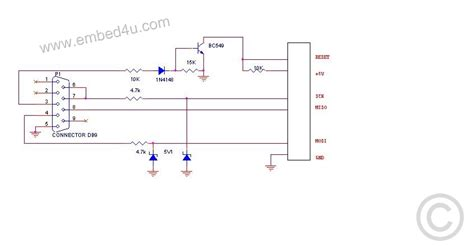 serial port pic programmer circuit diagram serial pic programmer circuit diagram circuit and