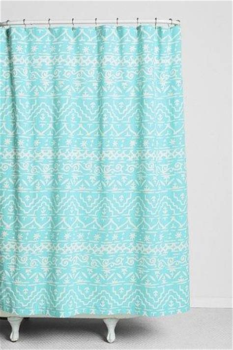 urban shower curtain magical thinking sketched geo stripe shower curtain i