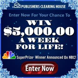 Winner Of 5000 A Week For Life From Pch - sweepstakes win 5000 a week for life from pch
