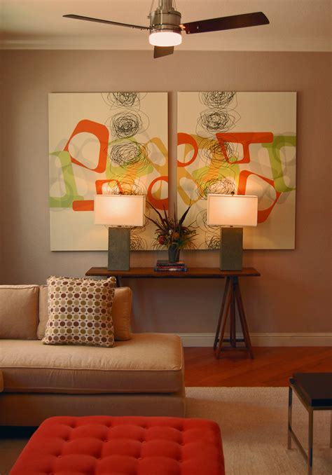 living room artwork decor 25 creative canvas wall ideas for living room