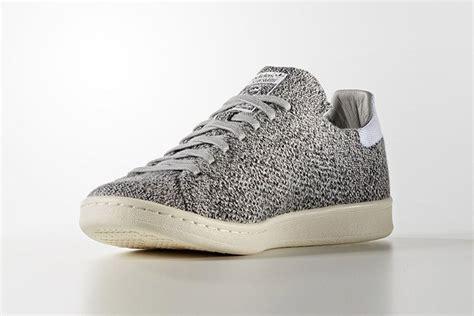 adidas stan smith primeknit wool grey sneaker bar detroit