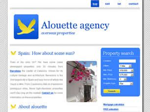 free css templates for online advertising agency alouette agency free website template free css templates