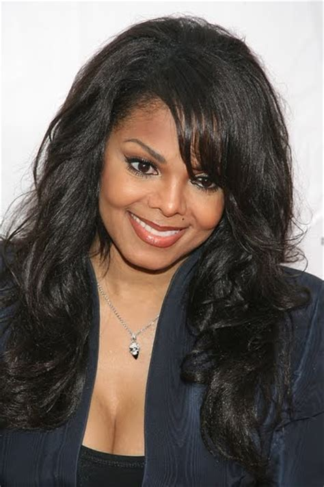 7 Hair Styles For 2010 by Janet Jackson Wavy Hairstyles 2010