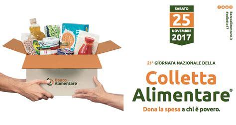 giornata colletta alimentare giornata nazionale della colletta alimentare 2017