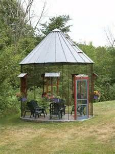 screened gazebo playhouse style indoors in the