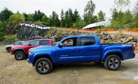 2016 toyota tacoma trd first drive review 2016 toyota tacoma trd
