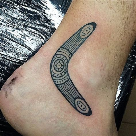 go down under with these 11 boomerang tattoos tattoodo