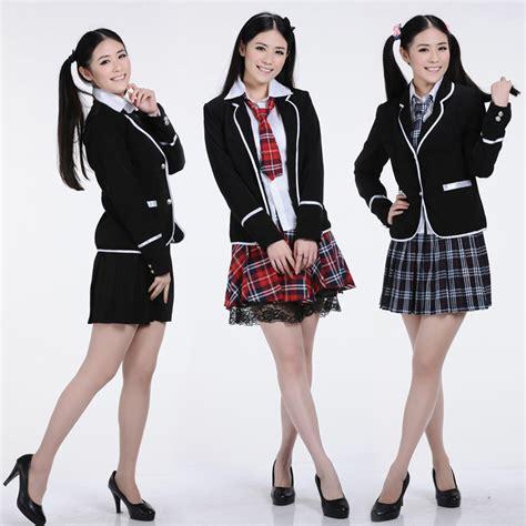 Seragam Sekolah Korea Korean School Cool Related Keywords Korean