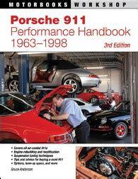automotive service manuals 1998 porsche 911 user handbook 1963 1998 porsche 911 performance handbook