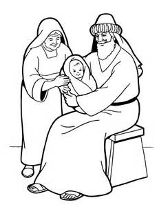coloring pages zechariah and elizabeth images