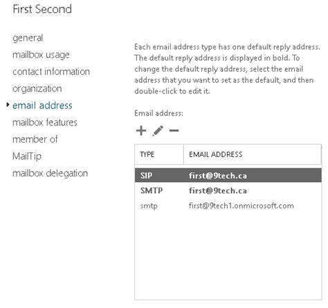 Resume Add Address Change The Source Authority From Azure Ad To Local Active Directory New Signature