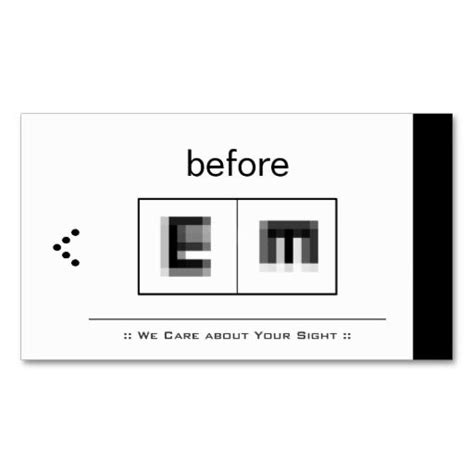 Optometry Optometrist Ophthalmologist Optical Shop Business Cards Eye Doctor Business Cards Free Templates For Optical Shop