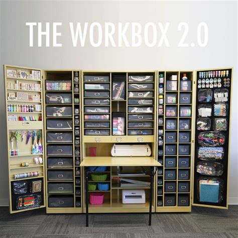 scrapbooking cabinets and workstations wow just wow scrapbook storage folds up into a cabinet