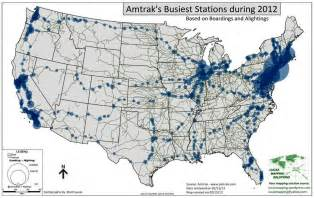 Amtrak Station Map by Trainwatchersjournal Amtrak Busiest Stations Map By Brett