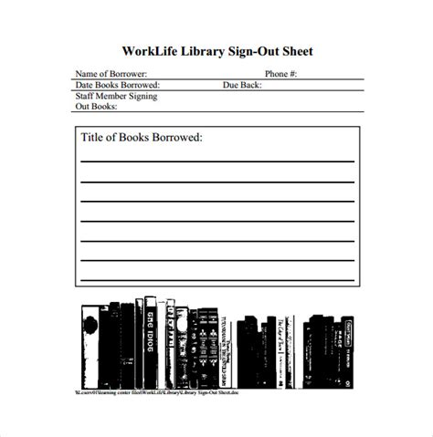 sign out sheet template 14 free word pdf documents