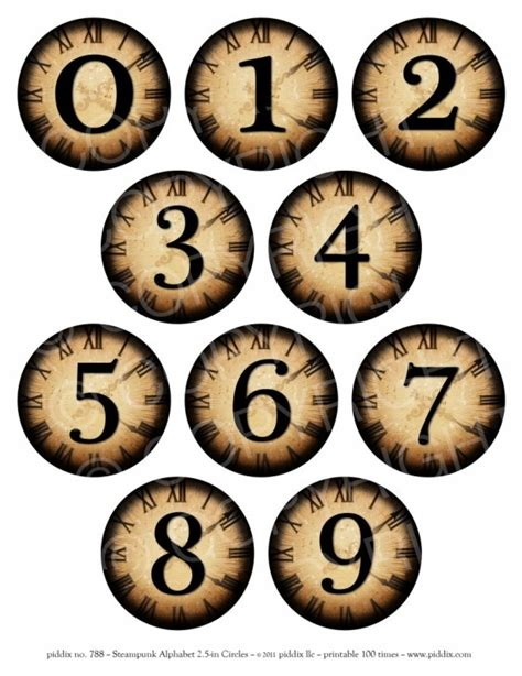 printable numbers on circles 1000 images about printables on pinterest