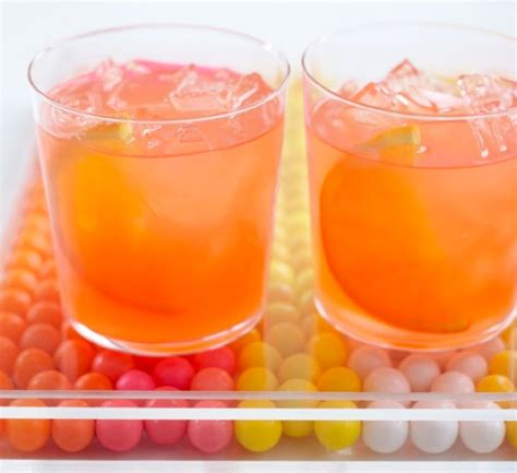 cocktails quot bubblegum tini quot perfect for a coral and