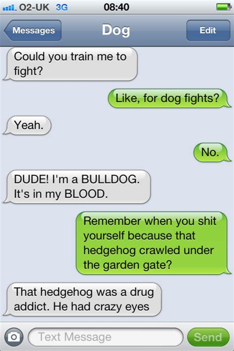 Meme For Text Messages - image 455910 texts from dog know your meme