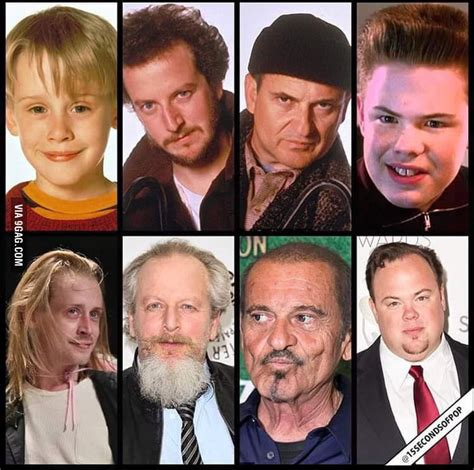 home alone cast then and now 9gag