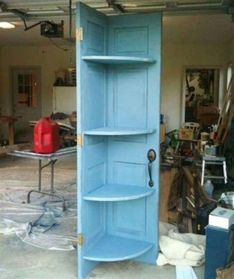 Corner Shelf Made From Door by 25 Best Ideas About Door Corner Shelves On