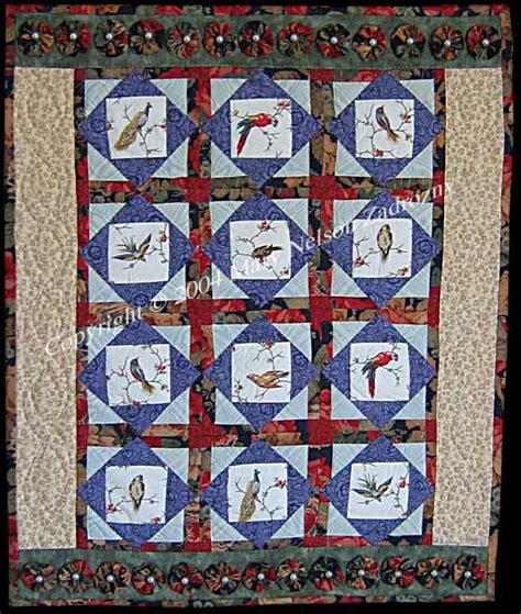 quilts by artist nelson zadrozny