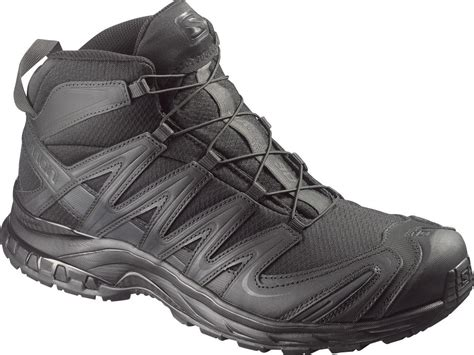 salomon forces xa pro  mid gtx blackout hueys