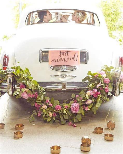 autoschmuck hochzeit just married 51 best hochzeit auto kutsche co images on pinterest