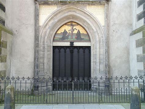 The Wittenburg Door by Wittenburg Door Germany Where Luther The Hater