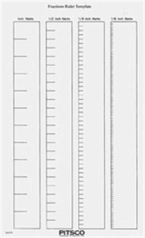 30 cm ruler template