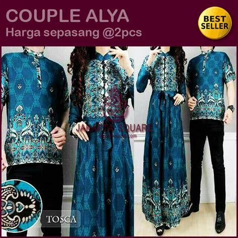 Ayla Gamis jual beli baju pasangan gamis sarimbit batik alya