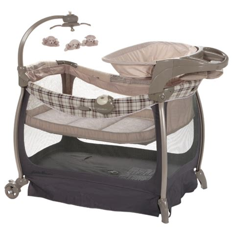 eddie bauer complete care baby play yard crib bassinet ebay