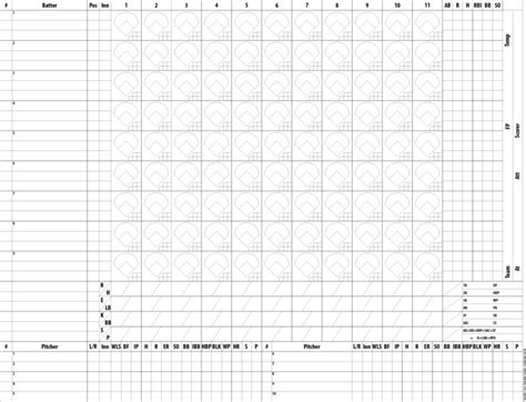 baseball score cards templates mlb announces umpires and official scorers for 2015 all