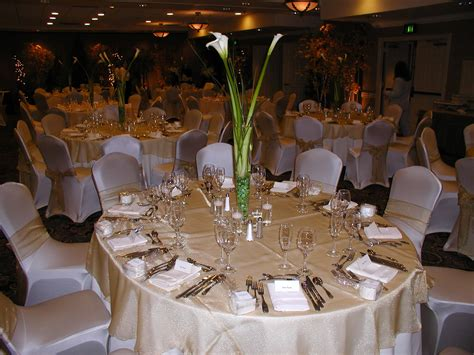 wedding reception table settings photos m brace moments event center creating memories that last forever
