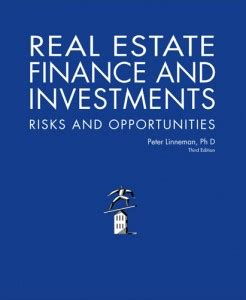 Real Estate Finance Mba Programs by Book Review Real Estate Finance And Investments