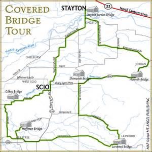 map of stayton oregon covered bridge tour stayton sublimity chamber of commerce