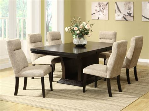 white leather dining room set striking dining room set for a marvellous ambience room