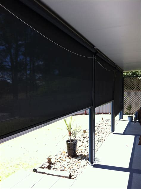 creative awnings creative blinds side channel fabric awnings