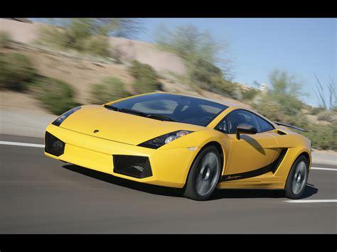 Lamborghini Gallardo Superleggera Yellow 2007 Lamborghini Gallardo Superleggera Yellow Front And