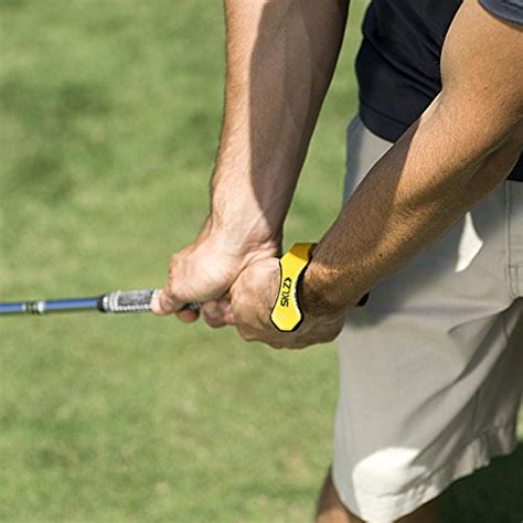 golf swing hinge sklz hinge helper golf training aid that promotes wrist