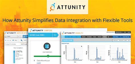 attunity simplifies data integration  management