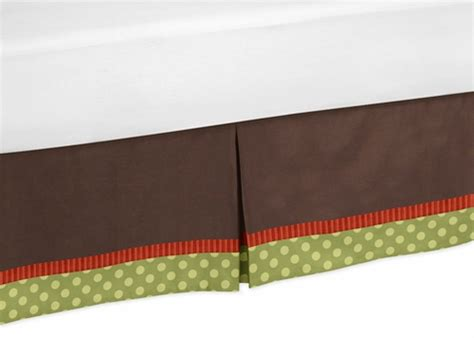 forest friends bedding forest friends bed skirt for toddler bedding sets by sweet jojo designs only 29 99