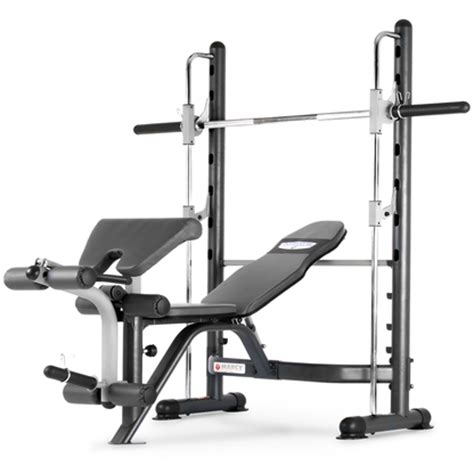 smith weight bench marcy tsa5762 half smith machine fixed weight bench at purefitness sports
